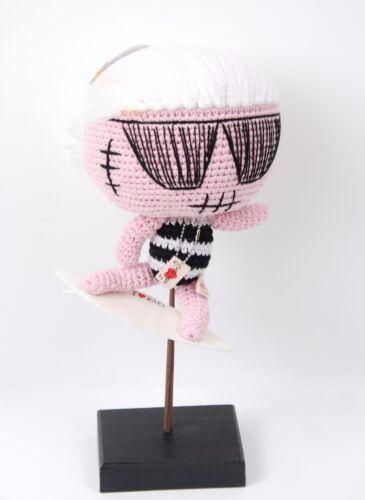 Muñecas 106 £ Lagerfeld Bcf511 Karl Mua Surfing Giga Doll Rrp Pink rqfrzO