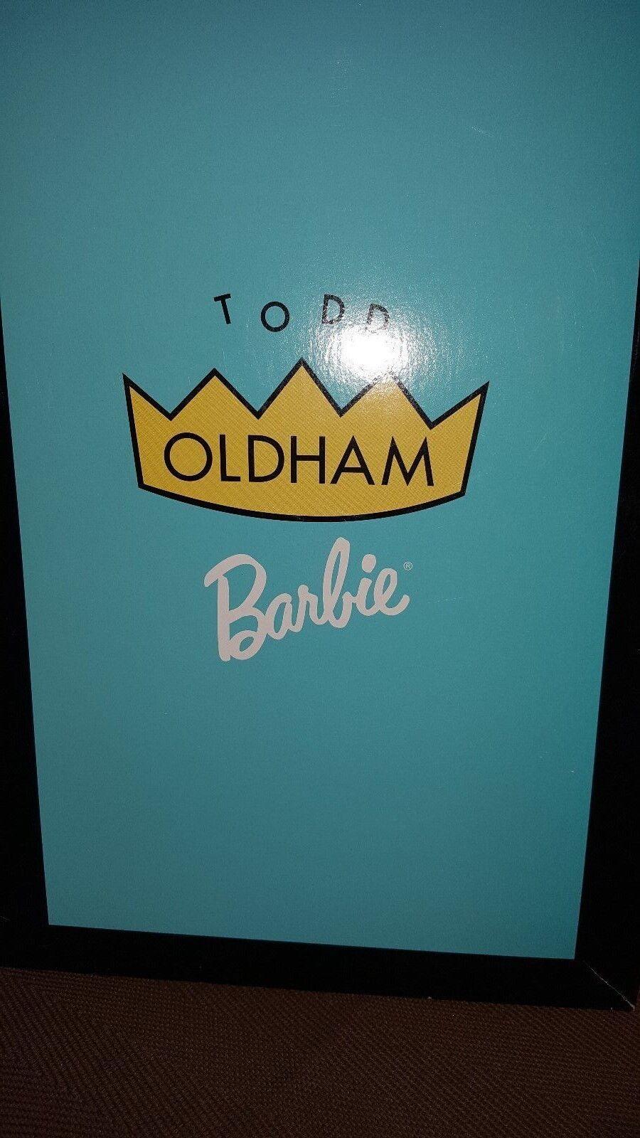 Mattell Barbie Sammlerpuppen Todd Oldham mit Zertifikat