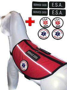 Details About All Access Canine Service Dog Emotional Support Animal Esa Vest Harness Bundle