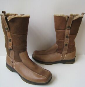 BLONDO CANADA SHEARLING BROWN LEATHER