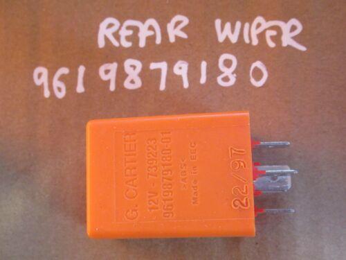 REAR WIPER ORANGE 9619879180 PEUGEOT 306 RELAY