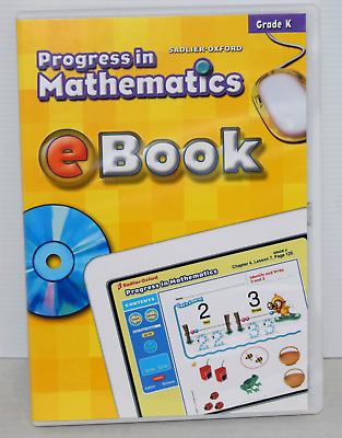 Sadlier Oxford Progress In Mathematics EBook Grade K FREE SHIPPING 9780821583203 EBay
