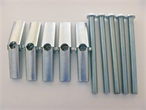 """Toggle Bolt 1//2/""""-13 x 6/"""" Slotted Round Head Qty.5"""