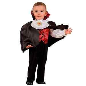 Costumi Halloween Neonati Vendita.Vampiro Dracula Costume Bambino Anni 1 2 3 Halloween Ebay