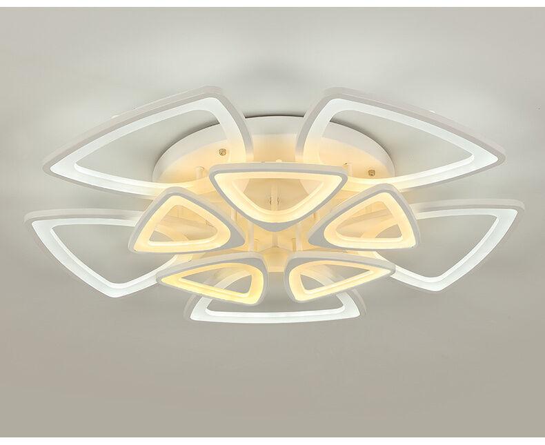 LED Deckenleuchte LNB XW065+10 Fernbedienung Lichtfarbe separat einstellbar A+
