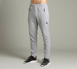3bd3dafe4730 Image is loading Mens-Adidas-ZNE-Stadium-Medium-Grey-Joggers-RRP-