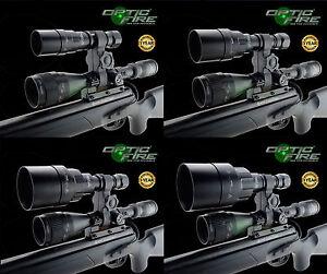 Opticfire ® AG DEL Scope Mount Gun light hunting Lampe vision nocturne NV IR Torch-afficher le titre d`origine ywDKRNtj-07141222-572902635