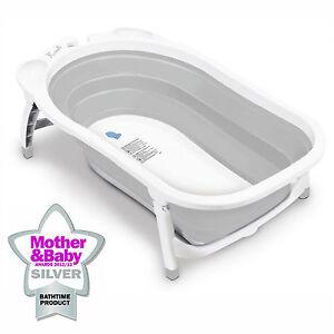Karibu Baby Bath Travel Folding Bath Infant to Toddler Anti Slip ...
