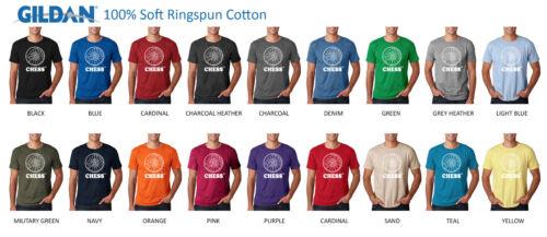 100/% Ringspun Tee CHESS RECORDS T-Shirt Retro Logo Soul Blues Stax Motown Jazz