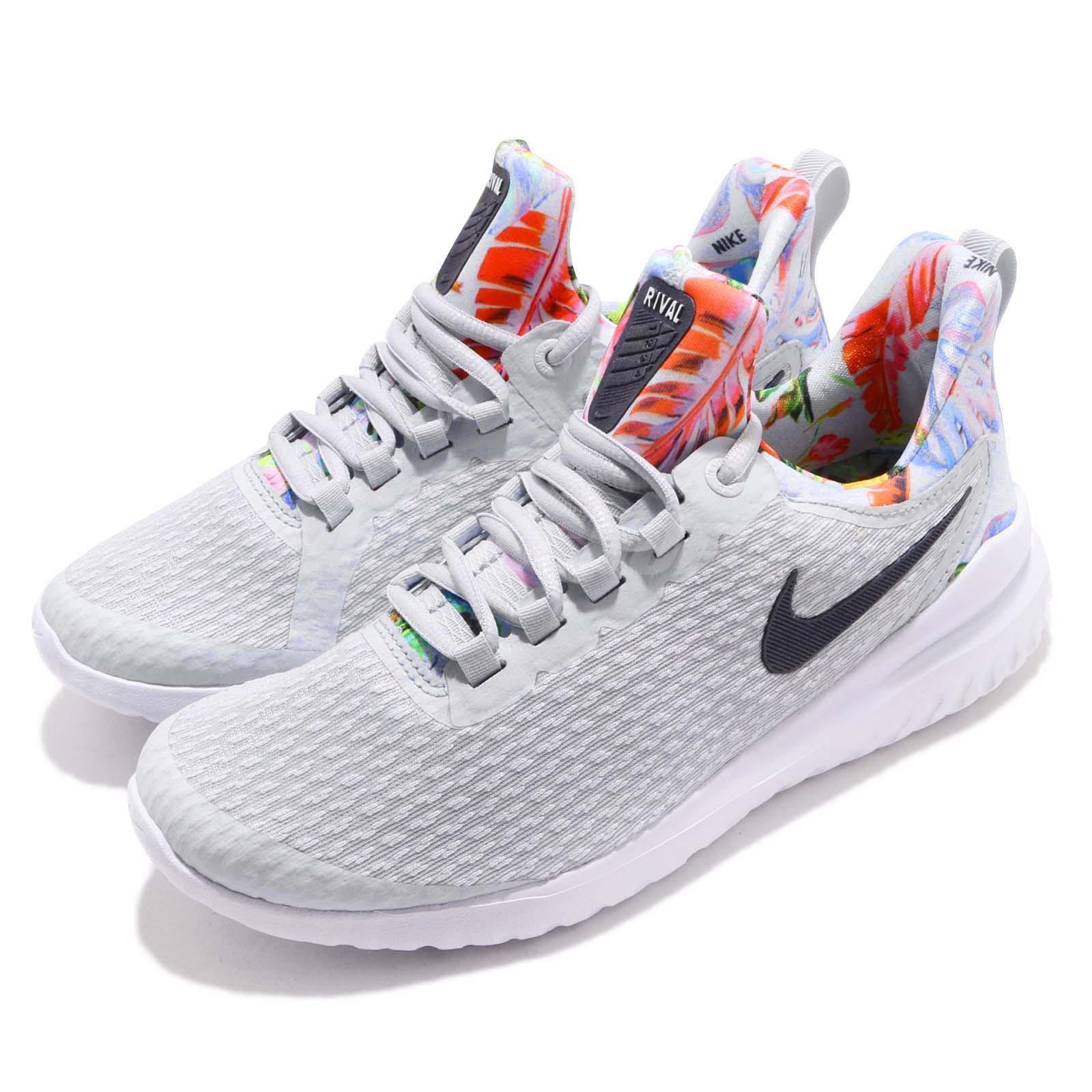 Nike Wmns Renew Rival Premium 2E Wide Pure Platinum Multi donna scarpe BQ0010-001