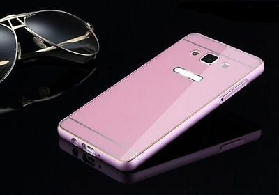 For Samsung Phone Luxury 2 in 1 Metal Aluminum Frame + Acrylic Back Case Cover