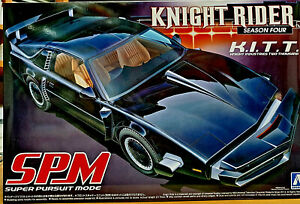 Kitt Knight Rider Knight Industries 2000 Supercar Season 4 Spm Mode Aoshima Kit Paquet éLéGant Et Robuste