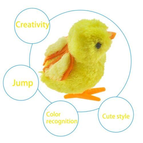 Süß Wind Up Hüpfendes Springen Hühner Aufziehbare Laufen Spielzeug cRUWK f.DezYL