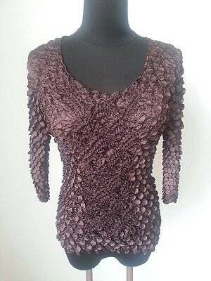 New Women Elastic Blouse Fahion Popcorn Tops  Long Sleeves Shirts Coin shirts
