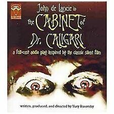 The Cabinet of Dr. Caligari (2004 CD) John De Lancie Star Trek: TNG Q ex library