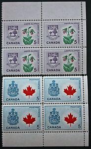 Briefmarke-Briefmarke-Kanada-Yvert-Und-Tellier-N-349-x4-Und-355-x4-N-cyn7