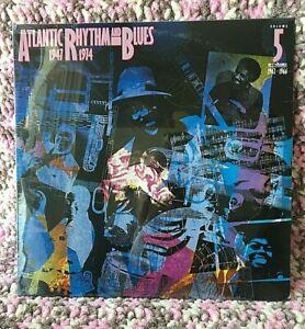 ATLANTIC RHYTHM AND BLUES VINYL volume 5 LP x2 SEALED VA R&B Blues OG 1985 copy