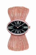 Valentino Women's V43MBQ5014 S080 Seduction 14K Rose Gold Plated Mesh Watch