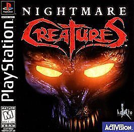 Nightmare Creatures - PS1 PS2 Playstation Game Complete