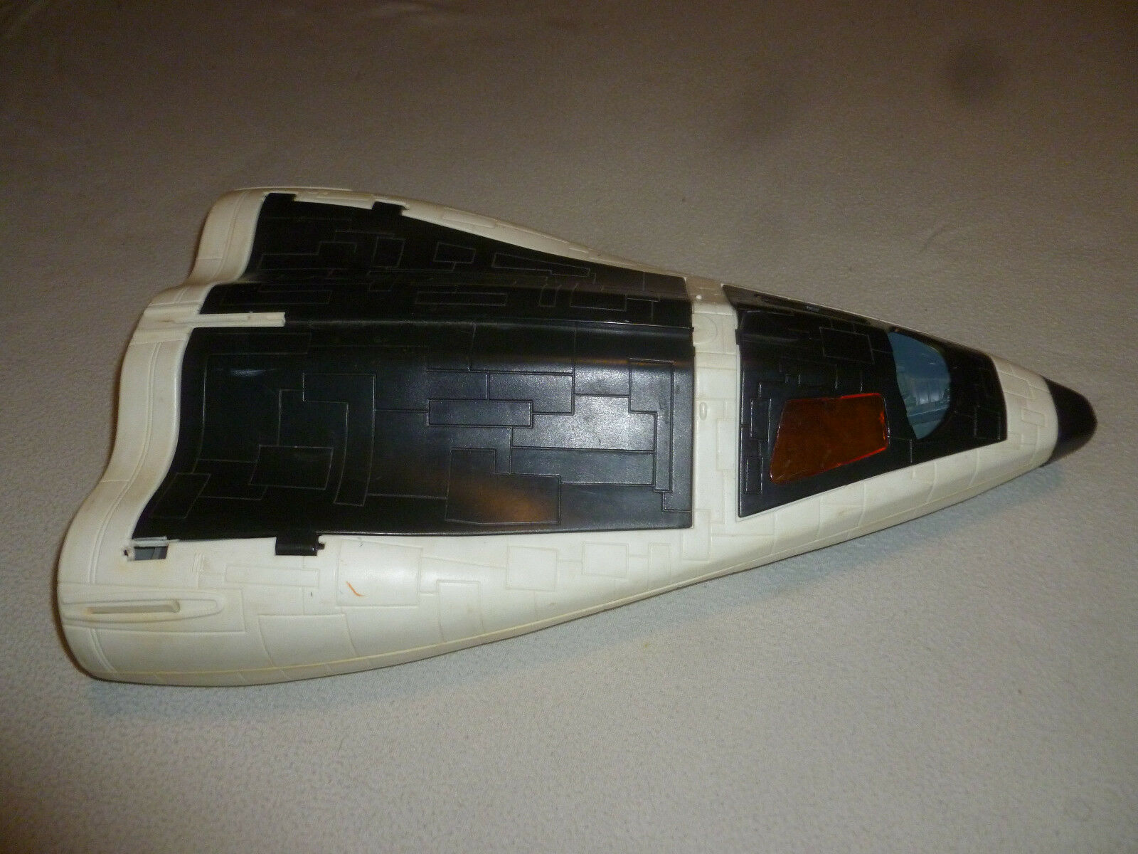 VINTAGE GI JOE CRUSADER SPACE SHUTTLE  HASBRO 1989 INCOMPLETE FOR PARTS ONLY