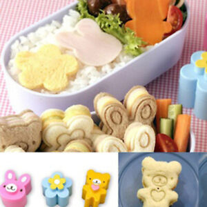 Am-3Pcs-Kids-Lunch-Sandwich-Toast-Cookies-Bread-Biscuit-Food-Cutter-Mold-Fine