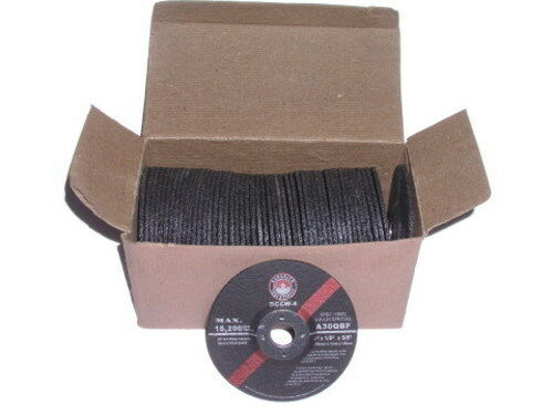 """4/"""" x 1//8-Inch Depressed Centre Cut Off Wheel for Steel box of 50 Type-42"""