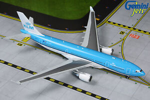 KLM-Airbus-A330-200-PH-AOM-Gemini-Jets-GJKLM1874-Scale-1-400-IN-STOCK