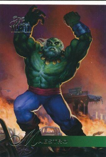 #44 Maestro 2019 Upper Deck Marvel Flair Hulk Old Man Logan
