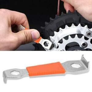 Bike-Chain-Bolt-Fixed-Wrench-Bicycle-Repair-Tool-Crank-Spanner-Carbon-Steel