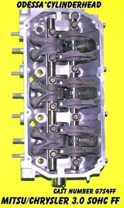 MITSU-DIAMANTE-MONTERO-amp-MONTERO-SPORT-3-0-3-5-SOHC-V6-G7S4FR-CYLINDER-HEAD-97-04