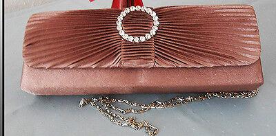 Damentasche,Abendtasche,Bag mit Kette,Clutch Theatertasche Hochzeittasche