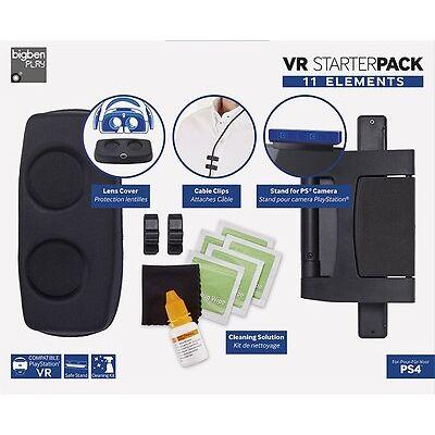 Starter Pack für Playstation VR Brille PS4 11 Teile Set Bigben