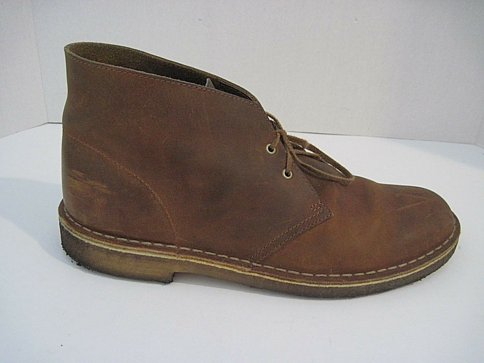 Clarks Originals Desert Boots Mens Brown Leather Size 10M