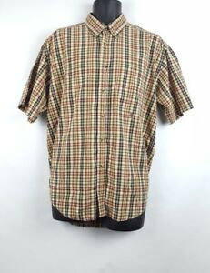 864181f3 Image is loading Vintage-Tommy-Hilfiger-Button-Front-Short-Sleeve-Shirt-