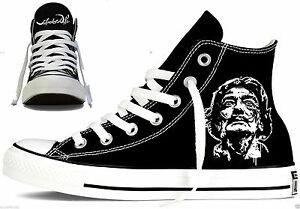 f97aaec34d3036 inexpensive image is loading salvador dali custom converse all star mens  womens d6754 8ade7