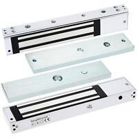 Electric Magnetic Lock Single Door 12v 280kg (600lb) Holding Force W Led Light