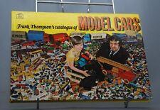 NB LIVRE ARGUS FRANK THOMPSON'S CATALOGUE MODEL CARS LESNEY