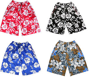 ef824b6bb7 Mens Flower Board Swim Skate Designer Retro Sports Shorts Swimming ...