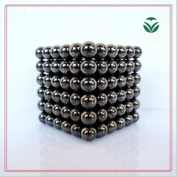 Shining Black 216 Pcs 3mm Sphere Ball Neodymium Rare Earth Super Magnets N35 New
