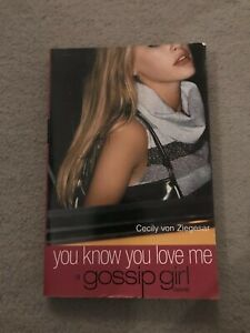 Gossip-Girl-Bk-2-You-Know-You-Love-Me-by-Cecily-Von-Ziegesar-Paperback