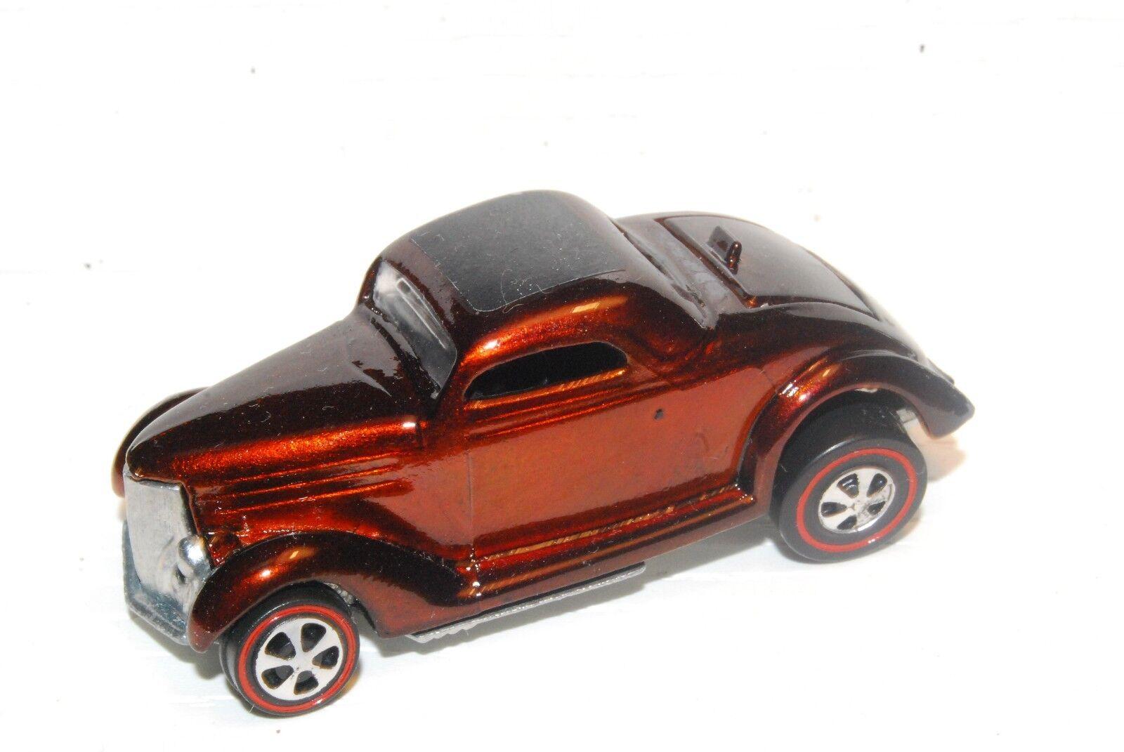 classeic 36 FORD Coupé Originale caliente ruedas rossoline RESTAURO Marronee