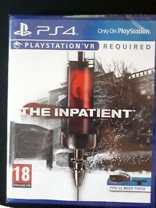 PS4 VR title - The Inpatient