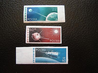 Polen stempel Yvert Und N Tellier°992 A 994 N-nein Gezahnt A27 Briefmarke Polen Polen