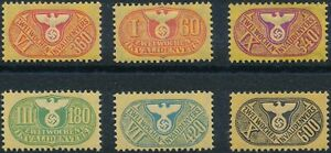 Stamp-Germany-Revenue-WWII-3rd-Reich-Medical-Invalid-Selection-MNG