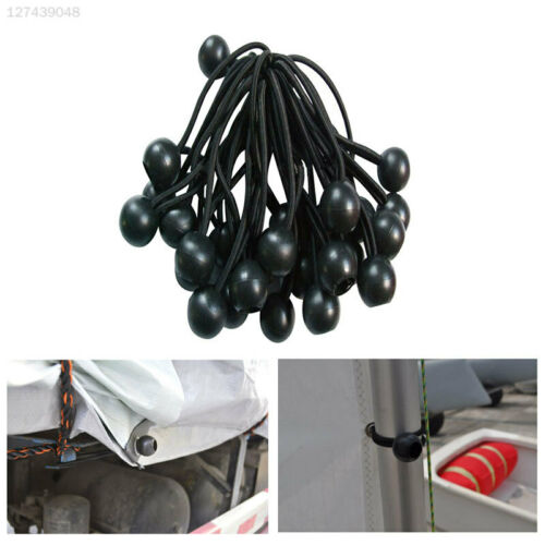 CBAD 10pcs Elastic Fixed Rope Bondage Ropes Outdoor Supplies Fixing Band Sturdy