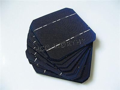 125X125mm 5X5 high power Monocrystalline Solar Cells for DIY solar panel gift