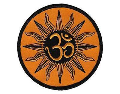 OFFICIAL LICENSED - ZEN OM SUN - EMBROIDERED SEW ON IRON ON PATCH HIPPY