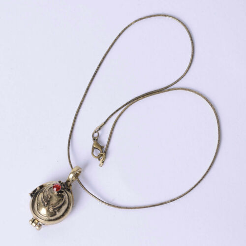 The Vampire Diaries Inspired Elena/'s Vervain Necklace Solid Locket Pendant