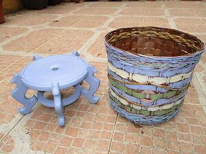 Pot-pour-Entree-Tiesto-et-Support-A-Jeu-Reconstruction-dans-Belles-Couleurs