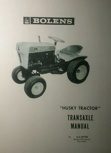 bolens 600 800 900 1000 lawn garden tractor transaxle overhaul rh ebay com Bolens Diesel Iseki Tractors Bolens Diesel Iseki Tractors